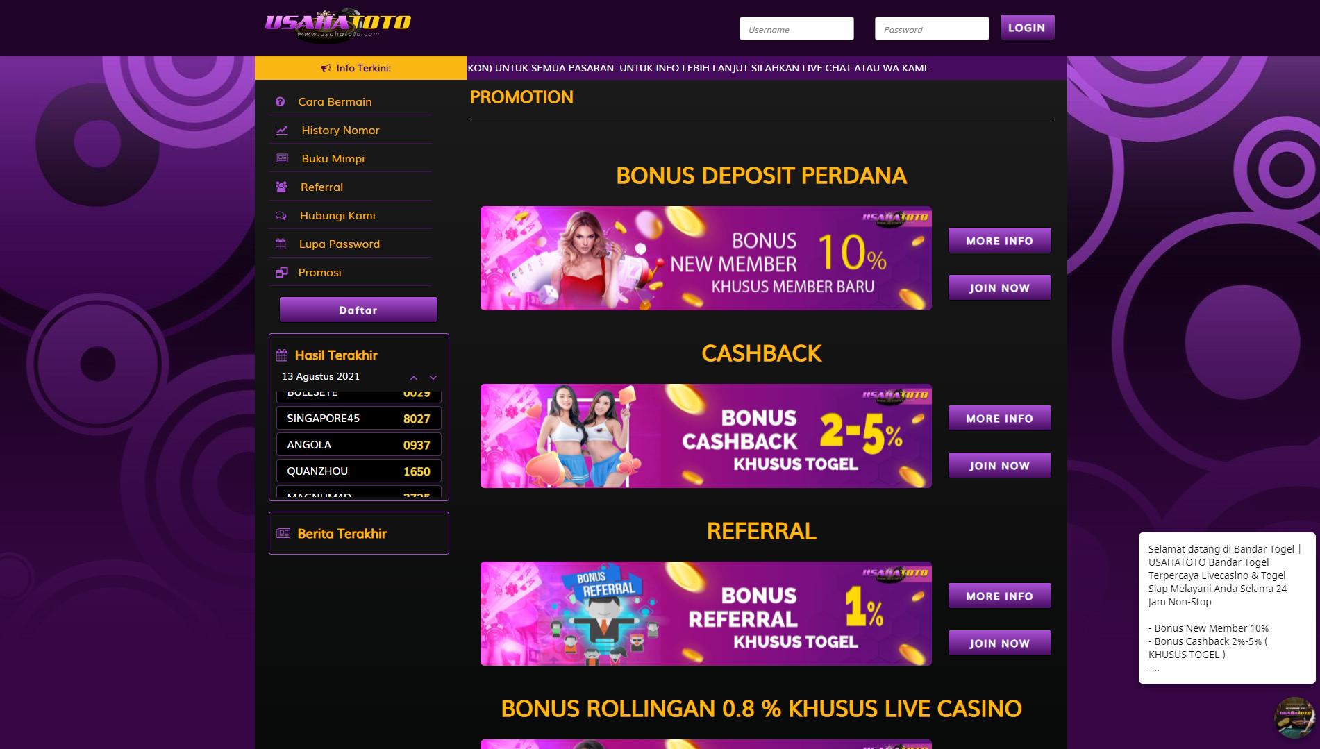 Togel Online Di Indonesia   Idnslot  Judi Online