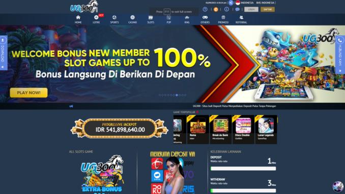 Situs Judi Slot Online Tanpa Potongan Pulsa   Bandar Togel